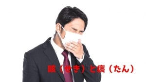 咳(せき)と痰(たん)